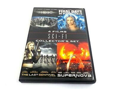 DVD MOVIE SCI - FI Collector's Set Lot Of Four 4 Movies