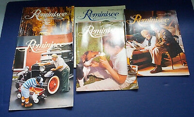mixed  5 back issue lot reminisce magazines