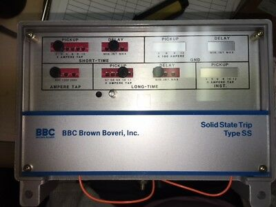 BBC Power Shield 609905-T501-N Type SS5G, Solid State Trip Unit, New Surplus