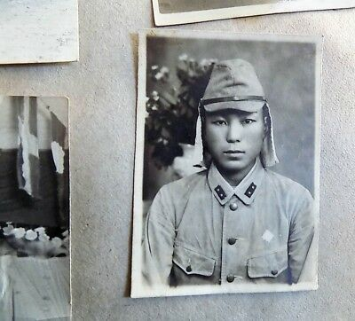 WWII Photo Album Scrapbook 148th Infantry JAPANESE PHILLIPINES Postcards CHINA