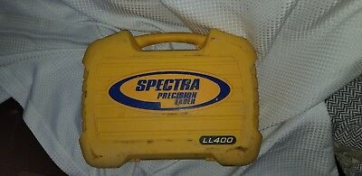 Trimble Spectra Precision Laser LL400 W/ HR 550 Receiver in Case with C57 clamp