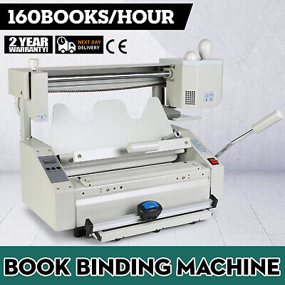 New Hot Melt Glue Book Binder Perfect Binding Machine Applicator Handle 110V