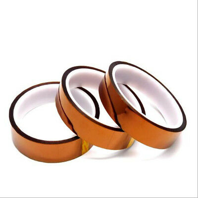 20mm 100Ft Brown High Temperature Heat Resistant Adhesived Tape Polyimide Hot