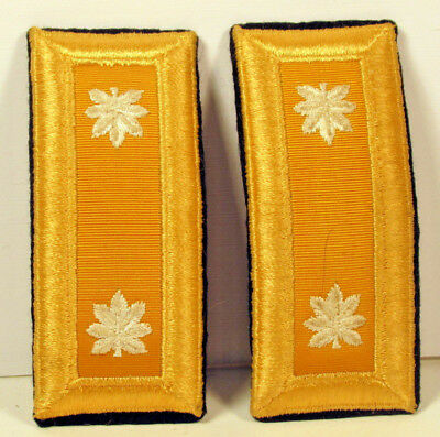 US Army LT COL Lieutenant Colonel Armor Male Shoulder Boards for Dress Blues 2