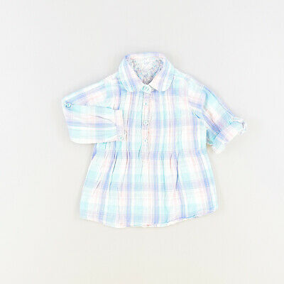 Camisa color Azul marca Early days 12 Meses  506960