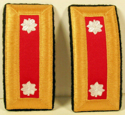 US Army LT COL Lieutenant Colonel Artillery Male Shoulder Boards for Dress Blues