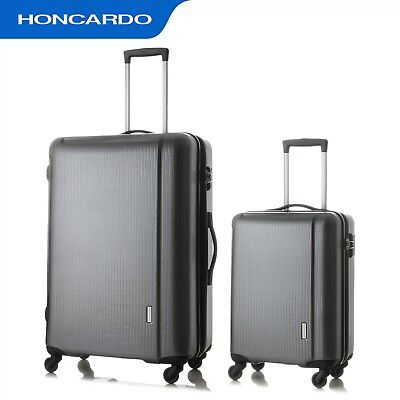2pc Luggage Set Travel Suitcase Trolley Expandable Spinner Carry Bag Hard Case