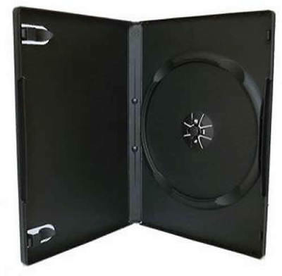 4mm 7mm 14mm Black Clear Single Double Triple Quad holds 3 4 5 6 DVD Cover Case