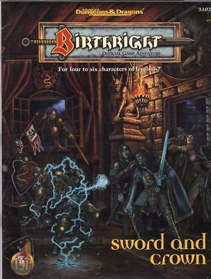 AD&D Birthright: Sword and Crown  NEU & OVP * eine Originalausgabe