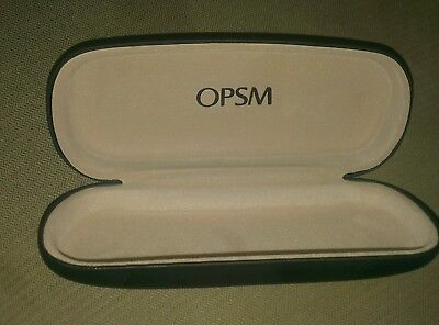 New  2 x Opsm Spectacle Glasses Hard Case  Sunglasses Eyeglasses Aussie stock.