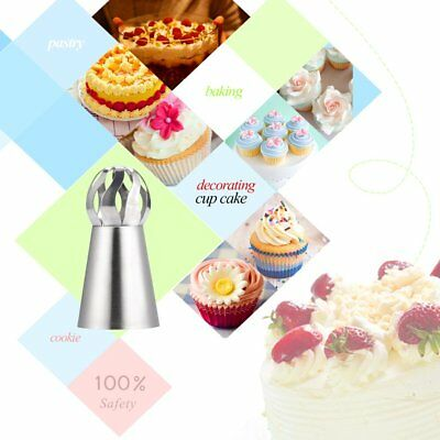 14 pcs Sphere Ball Tips Russian Icing Piping Nozzles Tips Pastry Cake Decor SP