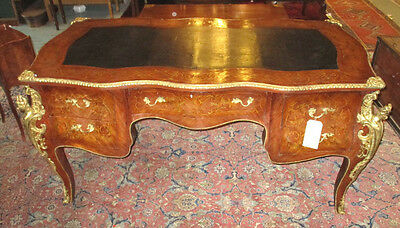 French Louis XV style Writing desk/ bureau plat