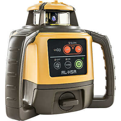 Topcon RL-H5A Self-Leveling Laser Level with Rechargeable Battery and LS-100D...