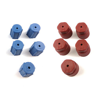 10Pc Universal Car High Low Side Caps Air Conditioning valve dust protection cap
