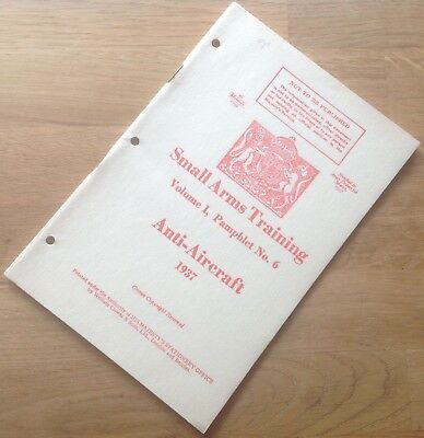 Ww2 Small Arms Manual Home Guard Genuine Not A Reprint Over 200