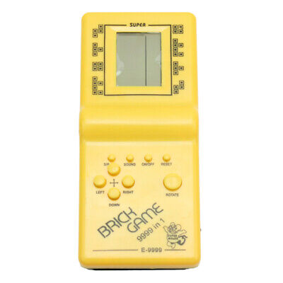 LCD Electronic Game Classic Brick Tetris Handheld Toys 9999-in 1 for fun Gift