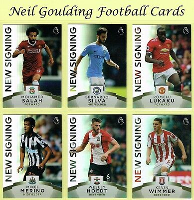 Topps Premier League PLATINUM 2017-2018 ☆ NEW SIGNING ☆ Football Cards #141-#160