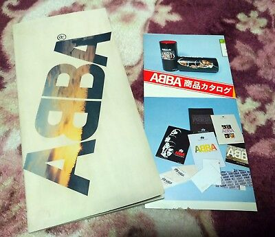 Abba PROMO Book DISCOMATE official merchandise flyer Japan 1979 Vintage rare
