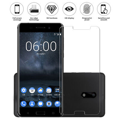 For Nokia 8 Sirocco 7 6 2 920 925 928 X2 Tempered Glass Film Screen Protect P1