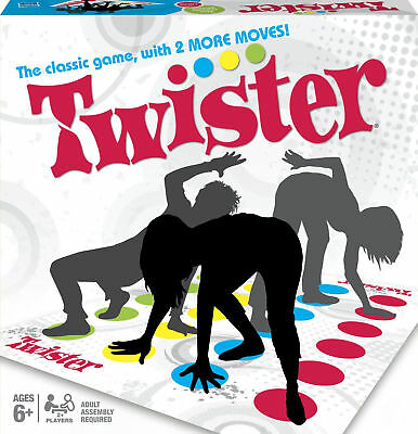 Twister The Classic Game With 2 More Moves Family Children Party Games Xmas New