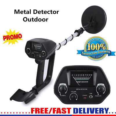 Underground Metal Detector Adjustable Gold Finder Treasure Hunter Tracker Seeker