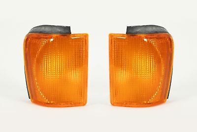 VW Scirocco MK2 81-92 Orange Front Indicators Repeater Pair Set Driver Passenger