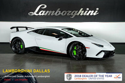 Lamborghini Huracan Performante  PERFORMANTE+NAV+RR CAM+LIFT SYS+TRANSPARENT ENGINE+STYLE+BICOLOR SPORTIVO+CRUISE