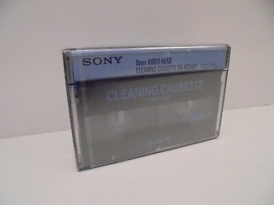 Sony 8MM V8-6CLHSP - Video 8 Cleaning Tape - New Factory Sealed - NEW