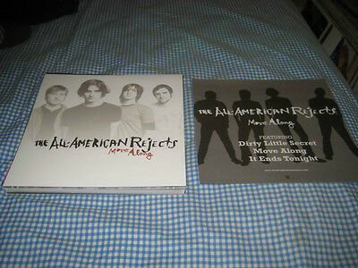 ALL AMERICAN REJECTS-(move along)-1 POSTER-2 SIDED-12X12-NMINT-RARE