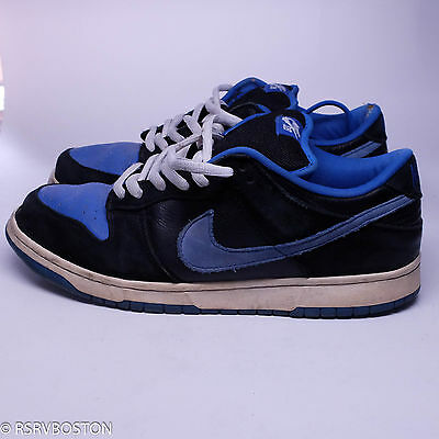 best authentic dfd25 33c2e Nike Dunk Low Pro SB J Pack Black Royal Blue White 12 304292-041