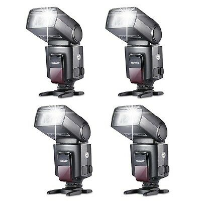 Kit (4 TT560 *Flash Speedlite for Canon, Nikon, Olympus, Panasonic, Fujifilm
