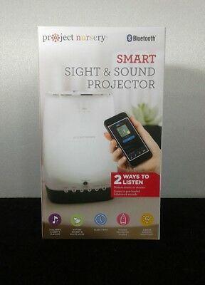 Project Nursery Smart Sight & Sound Projector with Bluetooth