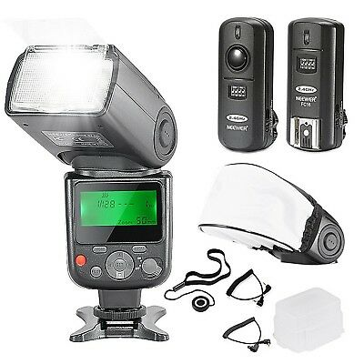 NW-670 TTL Flash Speedlite with LCD Display Kit for Canon DSLR Cameras
