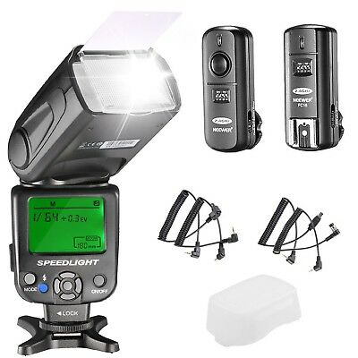 NW620 Manual Flash Speedlite Kit for Canon Nikon DSLR Cameras Wireless Trigger