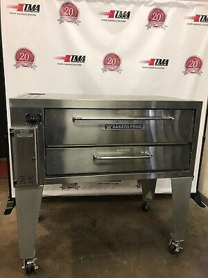 BAKERS PRIDE Model 3151 Gas Deck Oven