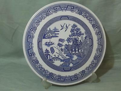 """Spode Blue Room Willow Pattern Gateau Plate 9¾"""""""