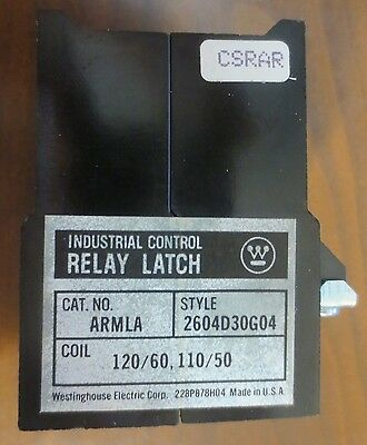 Westinghouse ARMLA MAG. Latch for AR Relay Style 2604D30G04 120V@60Hz New