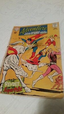 Superman DC Adventure Comics Superboy & Legion of SuperHeroes #364 January 1968