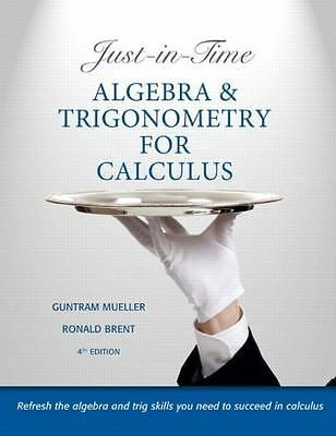 Algebra and trigonometry by robert f blitzer 2012 hardcover 5th just in time algebra and trigonometry for calculus 4th edition by mueller fandeluxe Choice Image