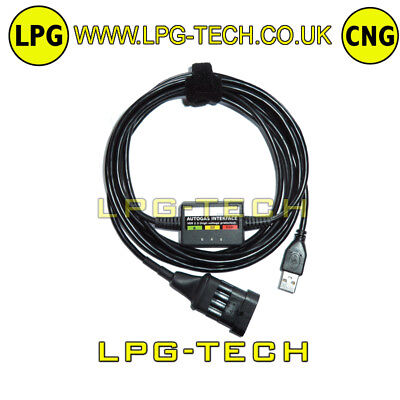 LANDI RENZO LCSE LPG GPL CNG USB Interface Kit professional + SOFTWARE - EUR 36,70 | PicClick IE
