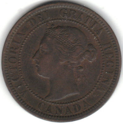 1900 Victoria Canada Large Cent VF TMM*