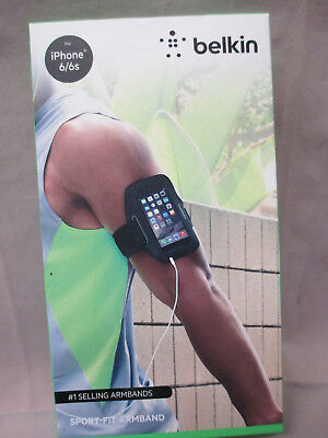 Belkin Sport-Fit Armband for iPhone 6/6s (Black)
