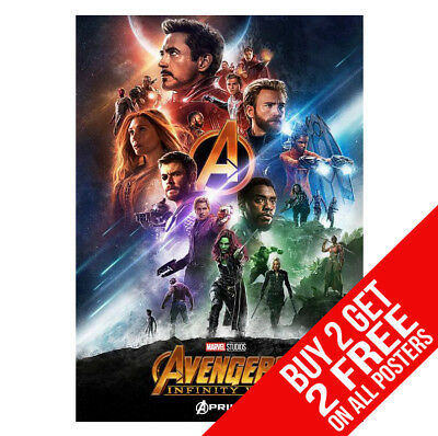 A3 SIZE THE AVENGERS INFINITY WAR POSTER DD5 PRINT A4 BUY 2 GET ANY 2 FREE