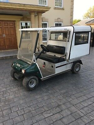 Club Car Golf Buggy Carryall 11 Electric With box Tipping Body With Barn Doors