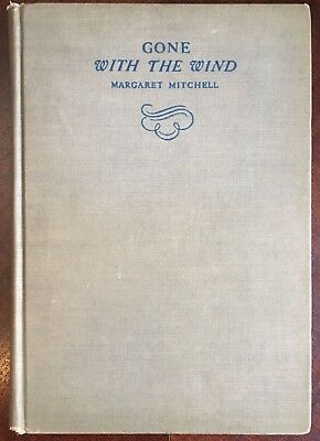 Gone With The Wind by Mitchell 1st Edition With Book Plate