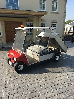 Club Car Golf Buggy Tipper Petrol Turf 2 Utility Vehicle Aluminium Body