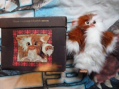 Gremlins. Plush Gizmo With Box. Quiron. Spanish. 1993. Very Rare.