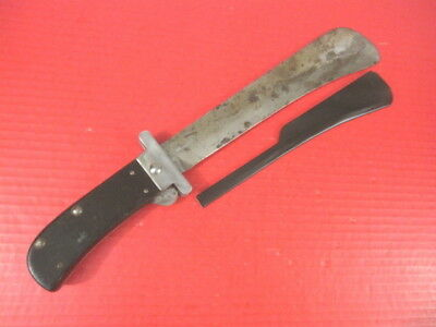 WWII US Army Air Force Folding Blade Machete Survival Knife w/Guard - Camillus