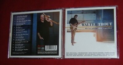 Walter Trout ~ We're All In This Together 2017 Us Promo Cd