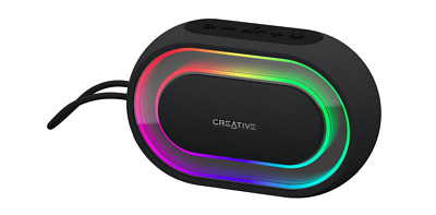 Creative Halo Portable Bluetooth Wireless Speaker with Lightshow 8hrs